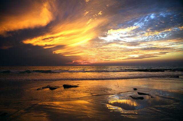 Cable Beach zonsondergang