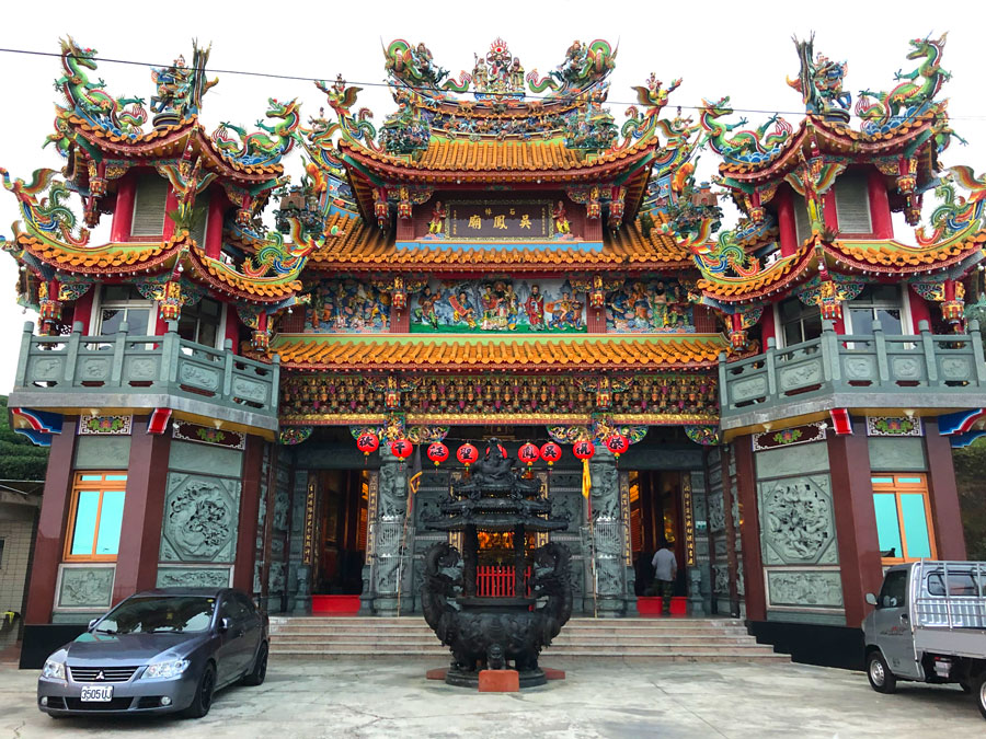 Tempel-Zhuqi