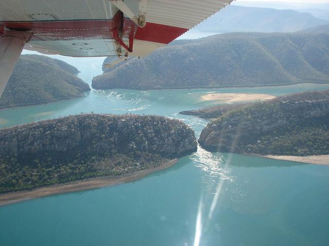Horizontal Falls scenic flight