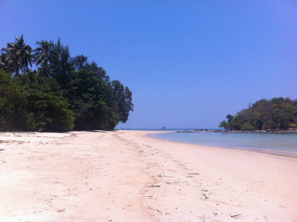 Klong Muang Beach in Krabi Town