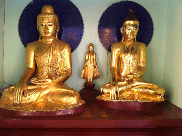 Boeddhas Myanmar