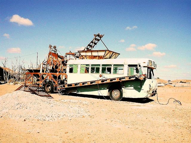 Bus-Coober-Pedy