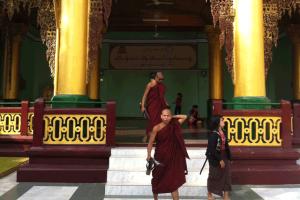 Monniken-Myanmar
