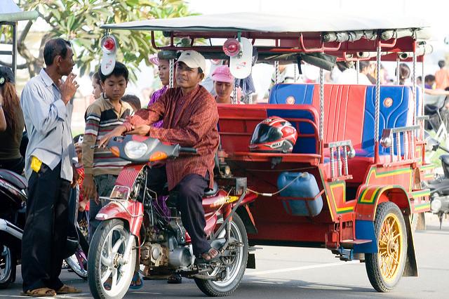 Remorque Cambodja