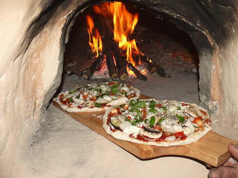 En wat te denken van deze verse pizza's?