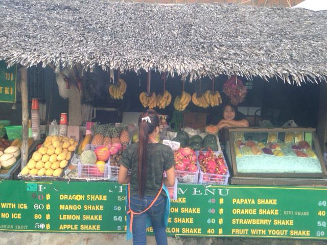 fruitshakes-koh-tao