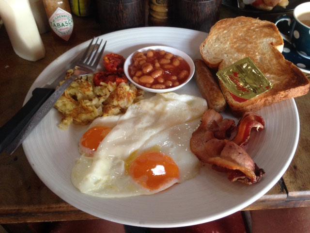 Wil je een soort van Engels ontbijt? Neem dan de 'full set'
