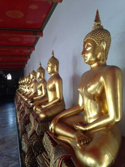 Gouden-Boeddhabeelden-Wat-Pho