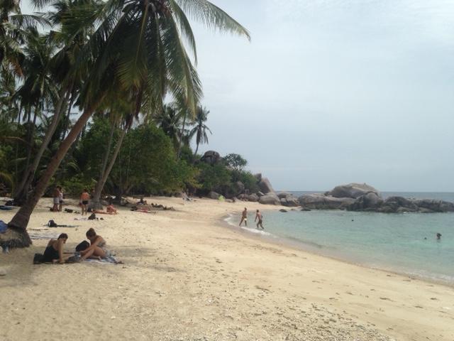 Dit strand, Sai Nuan Beach 1, is echt een aanrader als je van rustig en afgelegen houdt