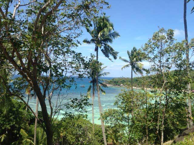 Taah Toh Beach uitzicht