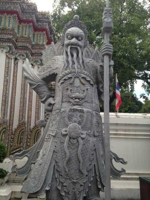 Wat-Pho-poortwachter
