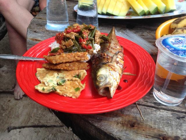 karimunjawa-eilandhoppen-eten