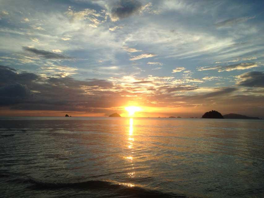 Koh-Adang-zonsondergang