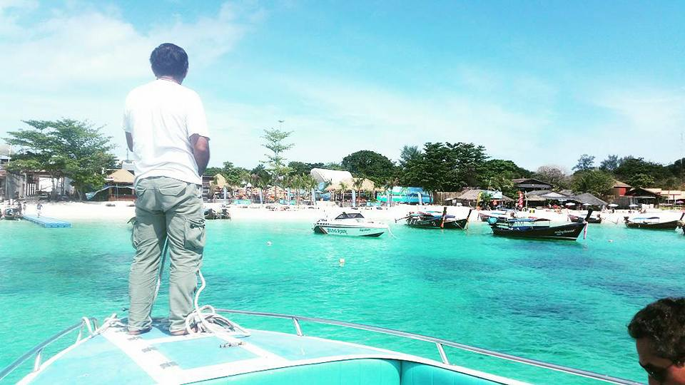 Koh Lipe aankomst Pattaya Beach