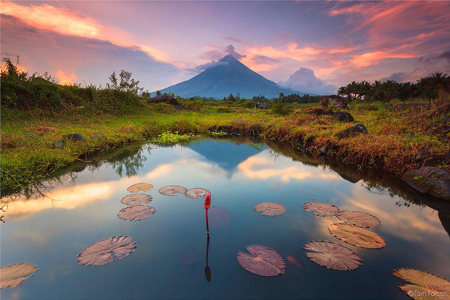 Mayon-vulkaan Luzon