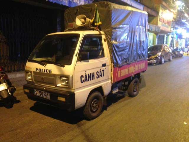 Politie-Hanoi