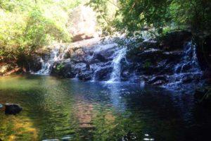 Jungle-trekking-Phong-Nha-waterval