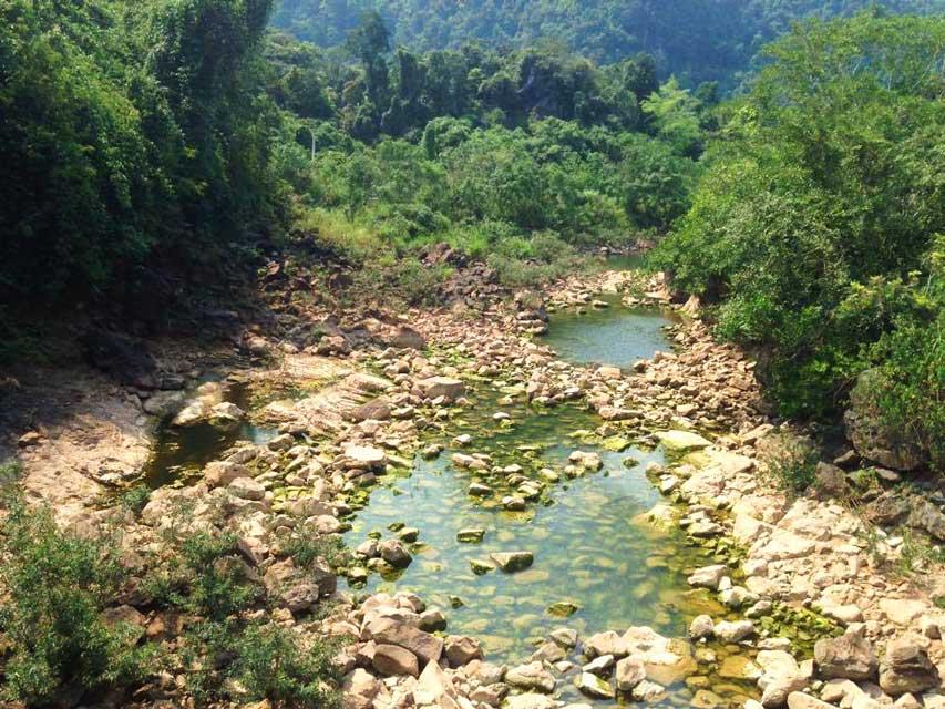 Phong-Nha rivier 1