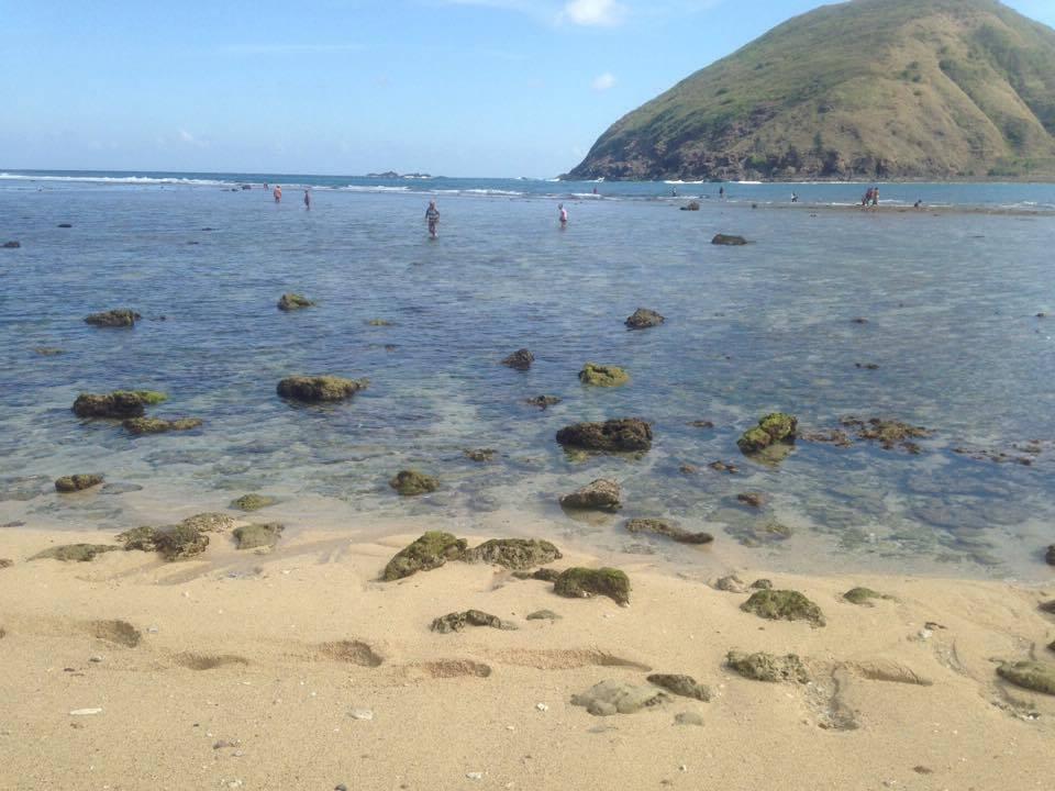 Mawun Beach vissende locals