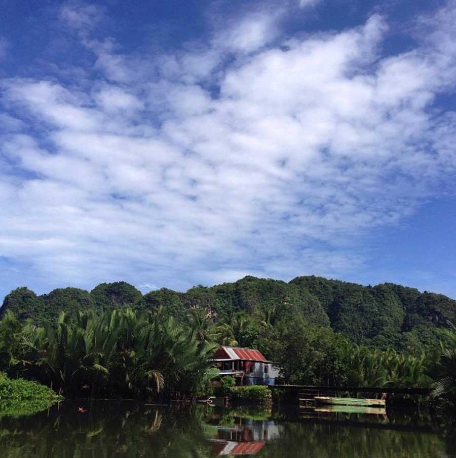 Rammang-Rammang-uitzicht