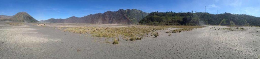 Bromo Sand Sea panorama
