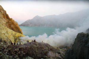 Ijen-kratermeer
