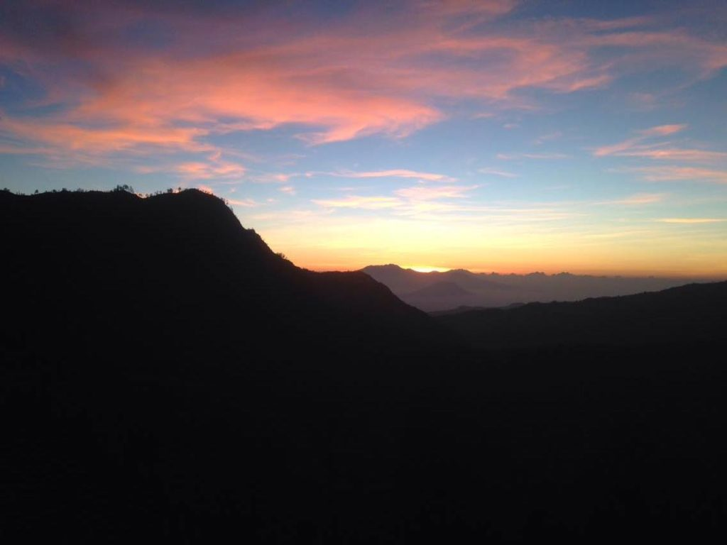 Zonsopkomst Bromo-viewpoint