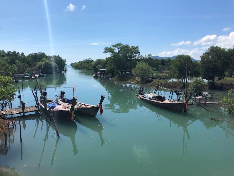 Vissersboten Koh Yao Noi