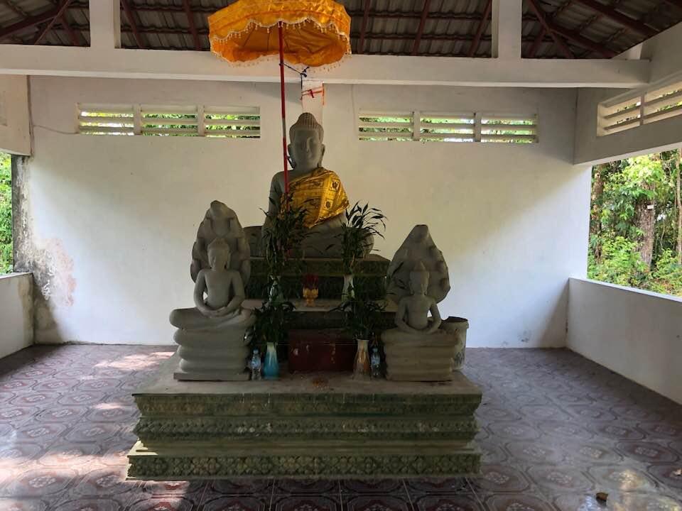 Kep National Park pagode