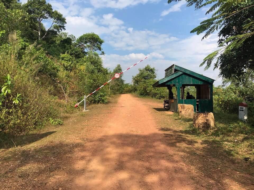 Kep National Park uitgang