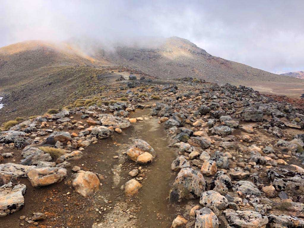 Tongariro-Alpine-Crossing-kraterlandschap