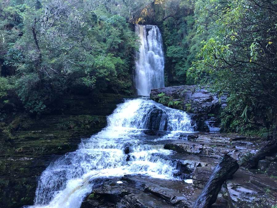 McLean-Falls-Catlins-Nieuw-Zeeland