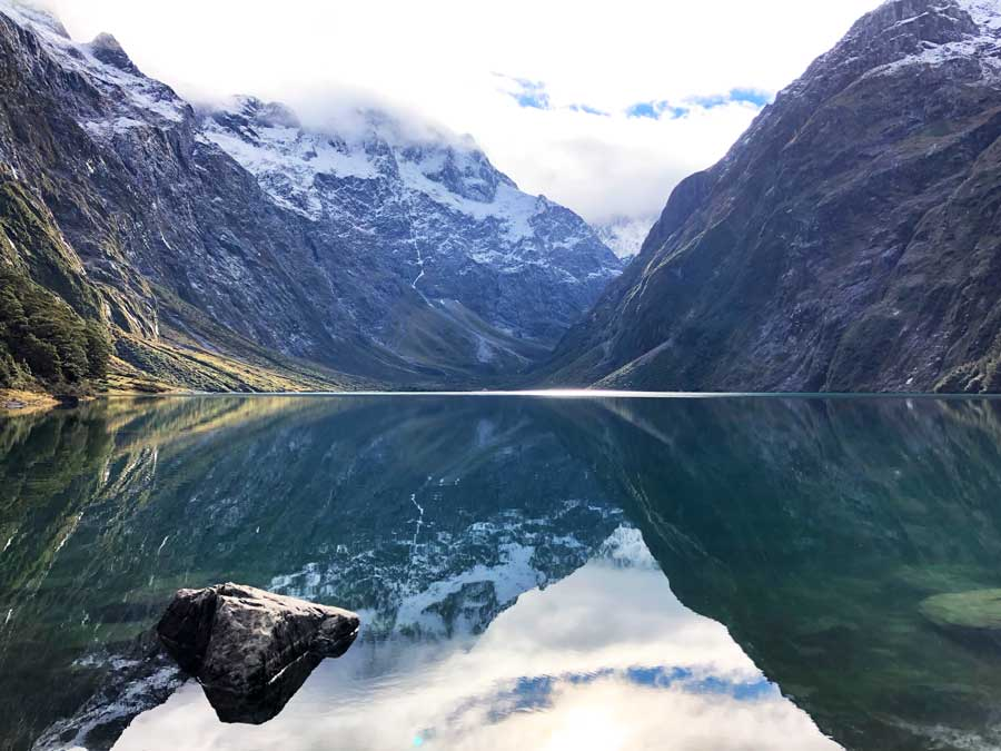 Lake-Marian-Fiordland-National-Park