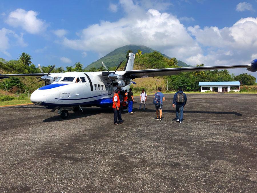 Banda-Neira-propellervliegtuig
