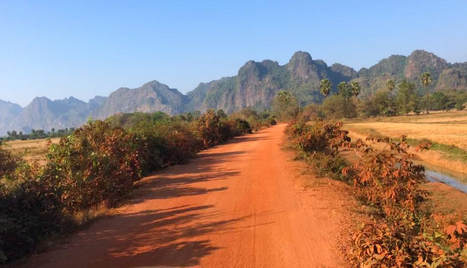 Hpa-An-woestijnlandschap