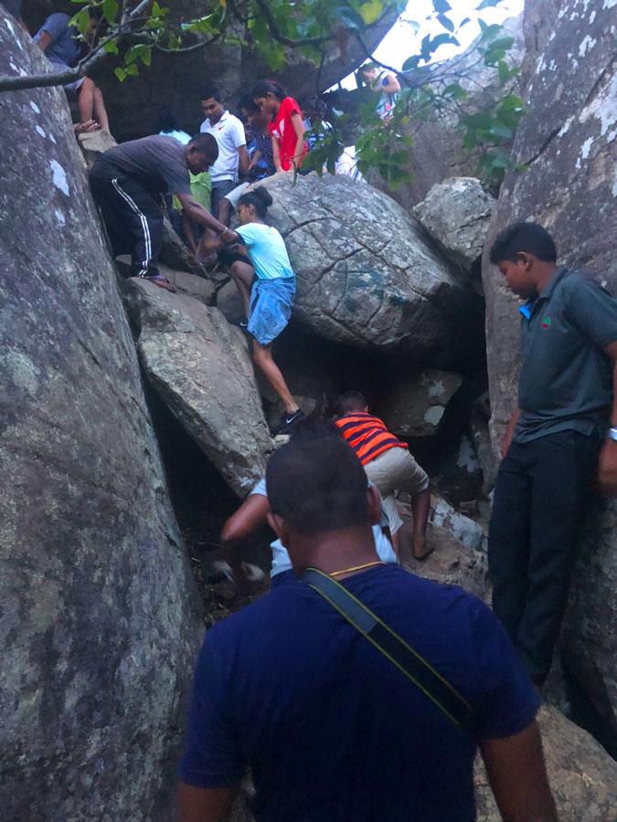 Pidurangala-Rock-beklimmen
