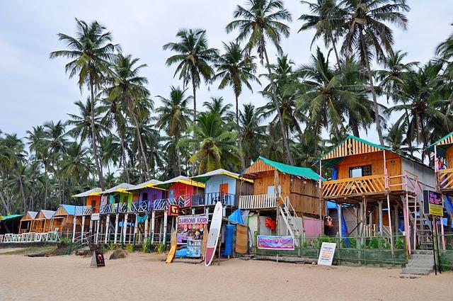 Goa India strand
