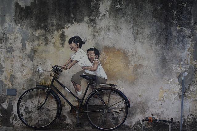Straatkunst Penang